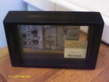 Photo/picture frame 3D - World Market - glass 6 x 4 1/4 tabletop