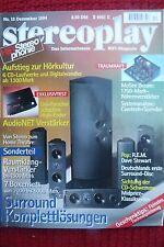 Stereoplay 12/94 McGhee Dream, Audionet Pre, Amp, MICROMEGA CD 2.1,duo BS 2,c/dp
