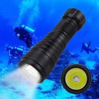 XM-L2 LED Diving 10000LM Scuba Flashlight Light Lamp Torches Underwater 150-200m