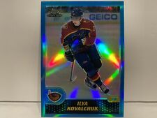 2001-02 Topps Chrome #149 Ilya Kovalchuk Refractor Rookie Card Hockey Card NHL!