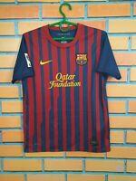 Barcelona Jersey 2011 2012 Home Boys 12-13 years Kids Shirt Nike 419859-486
