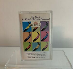 MUSIC CASSETTE THE BEST OF LOU REED & THE VELVET UNDERGROUND MPL RECORDS