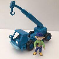 Bob The Builder Toys Wendy Figure + Lofty the Blue Colour Crane Vehicle CBeebies