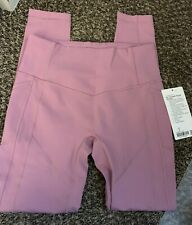 Lululemon All the Right Places 28 inch Size 8 Pink Taupe
