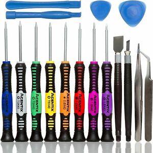 16 in 1 Mobile Phone Repair Tool Kit Samsung iPhone iPod iPad Screwdriver Set T6