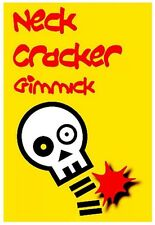 Neck Cracker gimmick. funny magic trick. close up.