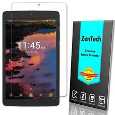 "2X ZenTech® Alcatel A30 Tablet (8"") - Clear Screen Protector Cover Saver Film"