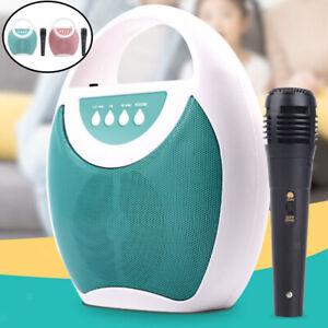 Kids Karaoke Speaker Machine with Microphone Gift