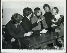Beatles Press Photograph #96-With Young Fan Backstage-1964-ESTX