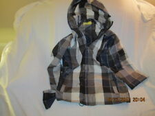 Preowned Men's Size Large ANALOG Hooded Plaid Jacket 100% Polyester