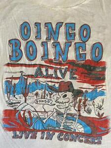 Oingo Boingo Live in Concert 80's Men's Black Unisex T-shirt Size S to 4XL NP067