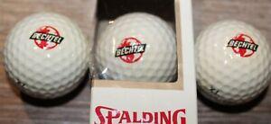 Vintage Bechtel Spalding Top-Flite XL Golf Ball Sleeve - 3 Bechtel Golf Balls