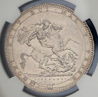 1820 LX Great Britain Silver Crown KM# 675 S. 3787 NGC UNC George III