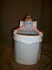 *Chipped* Vintage 1980'S Fitz & Floyd Omnibus Get Well Vase Female Patient