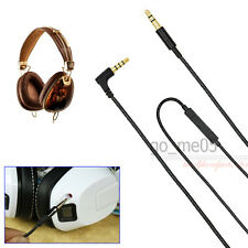 NEW Replacement audio cable with mic remote line for Crusher / aviator headphone