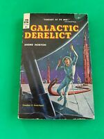 Galactic Derelict by Andre Norton ACE 1st Edition Paperback, 1959 Vintage Sci-Fi