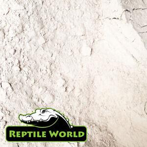 Calcium Carbonate 1kg - Ground Limestone Flour, Reptile World, Tortoise Terrapin