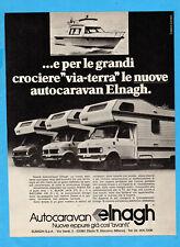 QUATTROR977-PUBBLICITA'/ADVERTISING-1977- ELNAGH AUTOCARAVAN