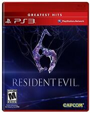 PLAYSTATION 3 PS3 VIDEO GAME RESIDENT EVIL 6 BRAND NEW AND SEALED