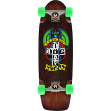 Dogtown Red Dog Rider Complete Skateboard - 9x30.25 Brown