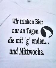 Oktoberfest-Schnäppchen,Herren T-Shirt,Spass,witziger Spruch,regular,Gr.3XL,neu