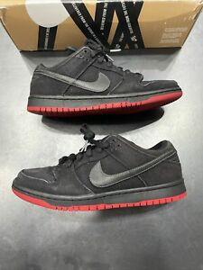 Nike Dunk Low Pro Premium SB Black Levis Size 8 573901-001