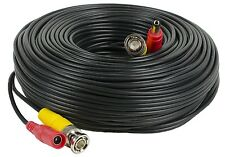 Amcrest 100 Foot BNC Coaxial Cable for CCTV Security HDCVI Camera (REFURBISHED)