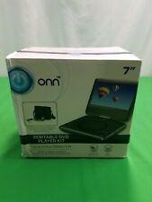 "Onn 7"" Portable Dvd Player Kit, Black, With 4 Hour Battery,Onn,T-701"