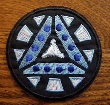 Iron man Arc Reactor Logo embroidered Patch 3 inches Style A