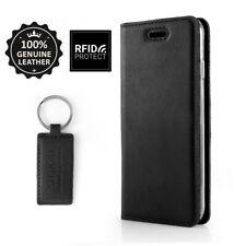 SURAZO ® Smart Magnetico vero Borsa in pelle guscio cellulare walletcase con Rfid Blocking