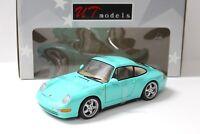 1:18 UT Models Porsche 911 (993) Carrera mint green NEW bei PREMIUM-MODELCARS