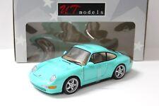 1:18 UT MODELS PORSCHE 911 (993) Carrera Comme neuf Green NEW chez Premium-modelcars