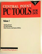 Central Point PC Tools Version 8, Volume 1 -For DOS (1992) RARE!