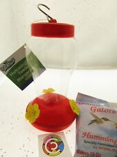 Humming Bird Feeder With Nectar ~ Nature Bird Feeder plastic garden yard