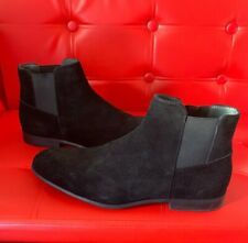 shoes men boots Calvin Klein Larry Calf Suede Black S11