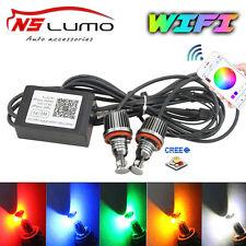 LUX BMW Angel Eyes Halo Ring RGB WIFI controll E92 E93 E60 E81 E87 H8 Led Marker