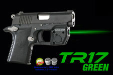 ARMA LASER TR17 GREEN SIGHT for Colt Mustang XSP with Grip Touch Activation