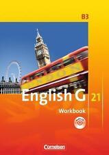 English G 21. Ausgabe B 3. Workbook mit CD von Jennifer Seidl