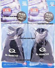 2x BLACK Denim AROMA Fresh BAG DR. MARCUS Elegant Quality Air FRESHENER PERFUME