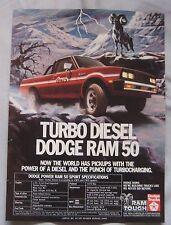 1982 Dodge Ram 50 Sport Original advert