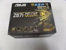 New Asus Z87I-DELUXE, LGA 1150, Mini ITX, 2 x DDR3 Dimms Motherboard