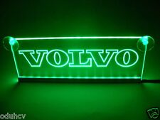 24V Green LED Cabin Interior Light Plate for Volvo Truck Neon Table Sign Lamp