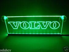 24V VERDE LED ABITACOLO LUCE INTERNA piatto per Volvo Camion NEON TAVOLO STEMMA