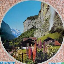 "1967 MB Kent ~ Mountain Waterfall ~ 24"" Round 1000 Piece Puzzle ~ New"