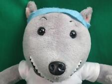 Roscoe Possum Basketball Workout Gray Funny Teeth Plush Stuffed Animal No Sound
