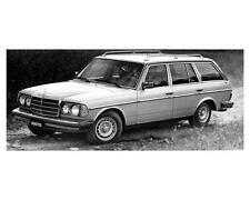 1980 Mercedes Benz 300TD Station Wagon Photo Poster zuc5349
