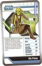 Star Wars - Top Trumps - The Clone Wars - KIT FISTO