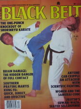 12/80 BLACK BELT MAGAZINE CHUNG DO KWAN KI CHUNG HAN KARATE KUNG FU MARTIAL ARTS