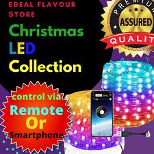 New Christmas Tree Decoration Lights Custom LED String Lights App Remote Control