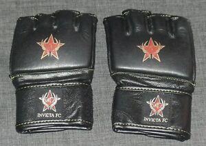 Invicta FC Official MMA Fight Glove Size XS Extra Small UFC Bellator Crus Cyborg